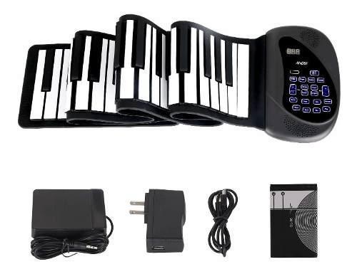 Piano electrónico portátil flexible de 88 teclas - [ver...