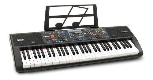 Piano musical eléctrico con teclado - plixio 61 teclas usb