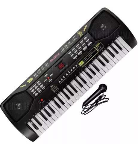 Piano para niños teclado organeta 54 teclas
