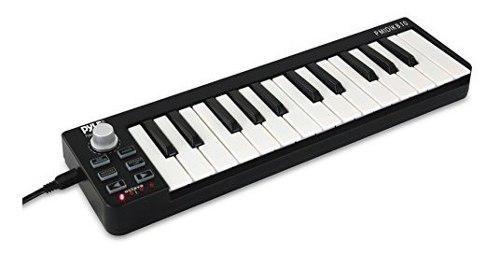Pyle controlador de teclado midi usb 25 teclas de grabacion