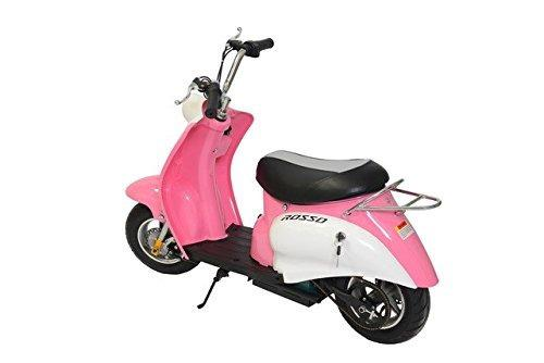 Scooter De Ciclomotor Rosso Motors Kids Swift Pink 24v 25...