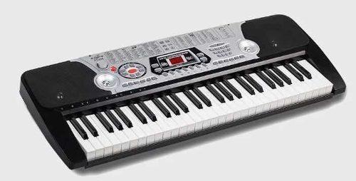 Teclado organeta piano electrónico 54 teclas con micrófono