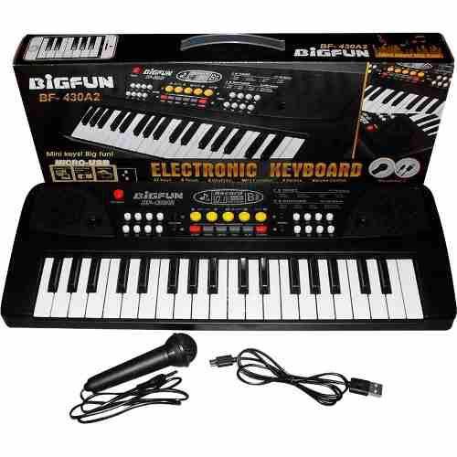 Teclado piano organeta electrónico 37 teclas más