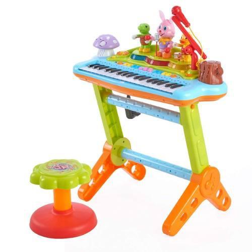Woby Musical Kids Teclado Electrónico Para Niños Piano...