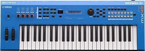 Yamaha Mx49 Sintetizador Musical, Negro, Azul