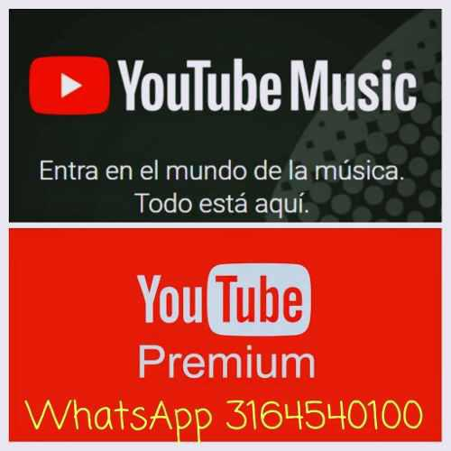 Youtube Premium Un Mes