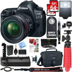 Camara Reflex Digital Canon Eos 5d Mark I Con Memoria 24-70