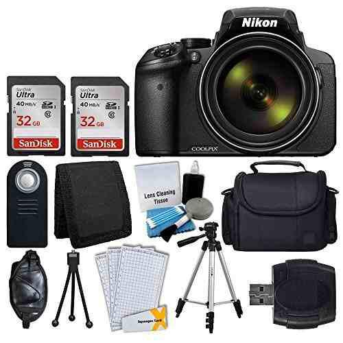 Cámara Digital Nikon Coolpix P900 + Tarjeta De Memoria