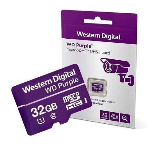 Memoria Micro Sd 32g Western Digital Purple