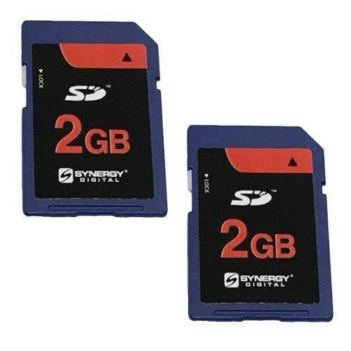 Nikon D50 Camara Digital Tarjeta De Memoria 2x 2gb Estandar