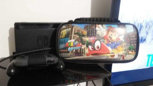 Nintendo switch memoria de 120g 7 juegos digitales estuche