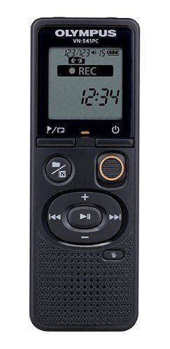Registrador De Voz Digital Olympus Vn541pc Negro 4gb Memoria