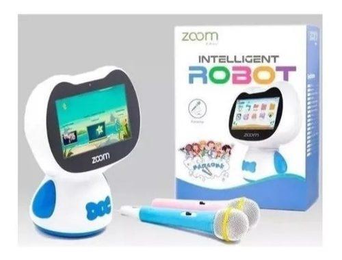 Tablet robot inteligente zoom zumi para niños