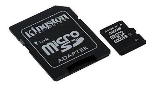 Tarjeta De Memoria Flash Kingston Digital 32 Gb Microsdhc