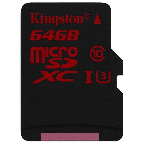 Tarjeta De Memoria Flash Kingston Digital 64gb Microsdxc