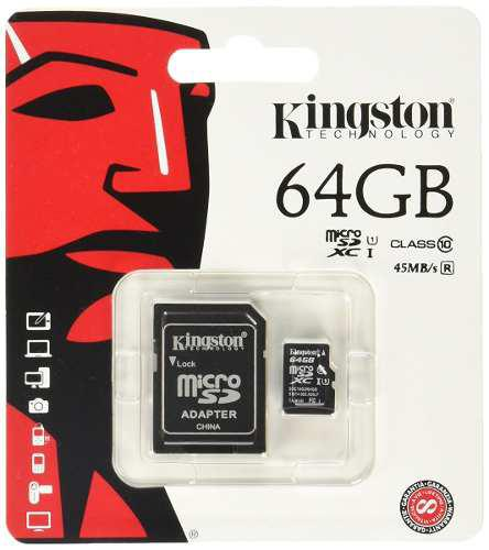 Tarjeta De Memoria Kingston Digital Gb Microsd Class...
