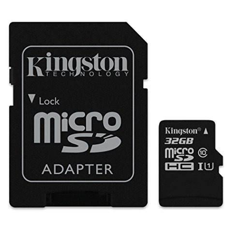 Tarjeta De Memoria Kingston Digital Gb Microsdhc Class...