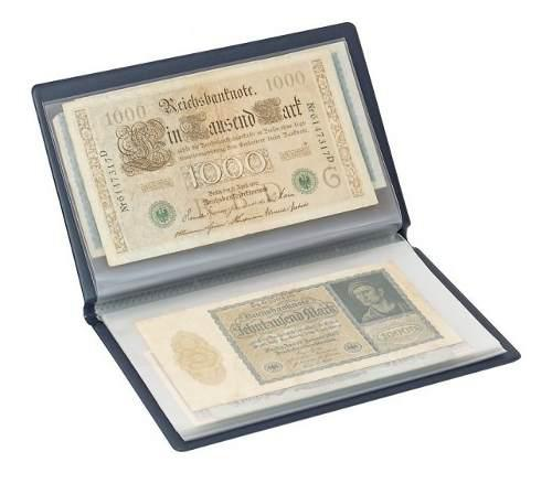 Album de bolsillo para billetes lindner referencia s818