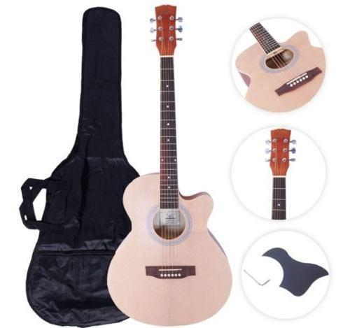 Glarry Gt501 40 \ Práctica Principiante Spruce Folk Guitar