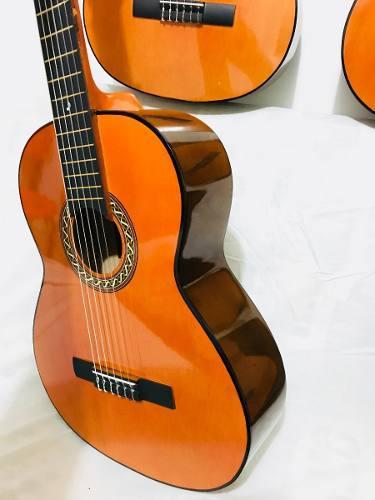 Guitarra Clasica Acústica Para Adulto+forro+método+envio