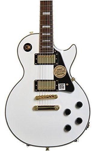 Guitarra eléctrica epiphone les paul custom pro con rosca