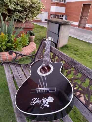 Guitarras Acusticas Adultos + Forro+ Metodo +limpiador+perso