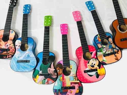 Guitarras Acusticas Niños Hasta 4 Años+ Forro Nuevos