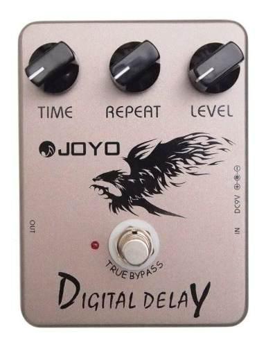 Pedal Efectos De Guitarra Joyo Jf 08 Digital Delay