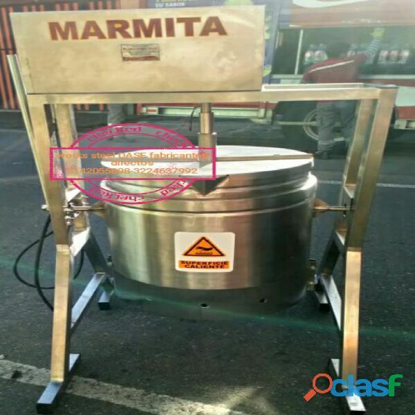 Marmita industrial   marmitas para reposterias   marmitas arequipes (ollas calderas)