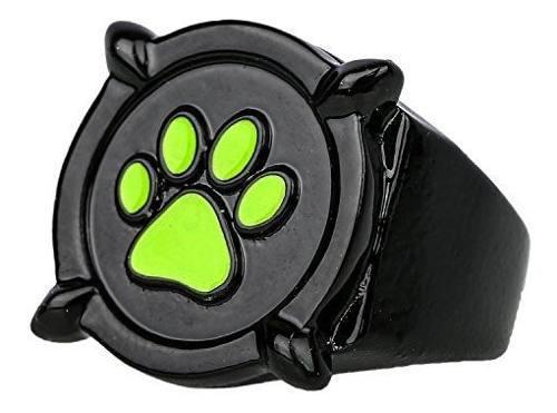 Accesorio De Cosplay Xincoer Cat Noir Black Ring Deluxe Zinc