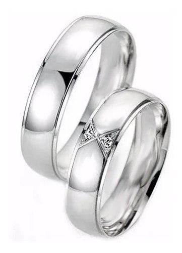 Isaac orgánico espacio  Argollas matrimonio compromiso plata c/u efecto oro blanco en Colombia |  Clasf moda-y-accesorios