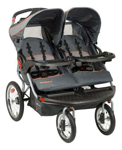 Baby trend navigator vanguard coche doble + envío gratis