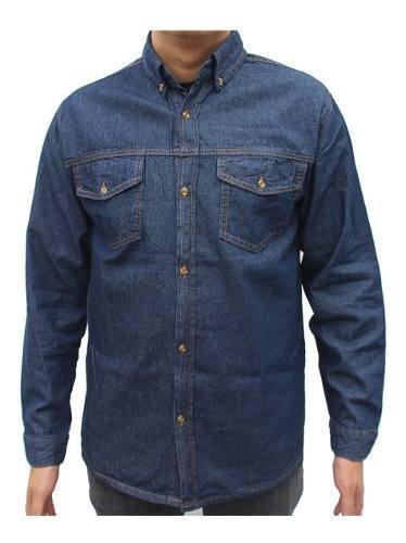 Camisa Jean Dotacion Indigo Trabajo Clásico