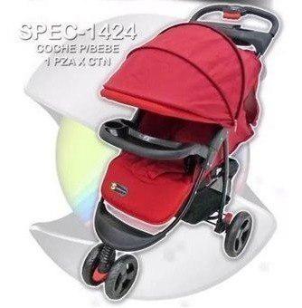 Coche paseador 3 ruedas deportivo para bebe