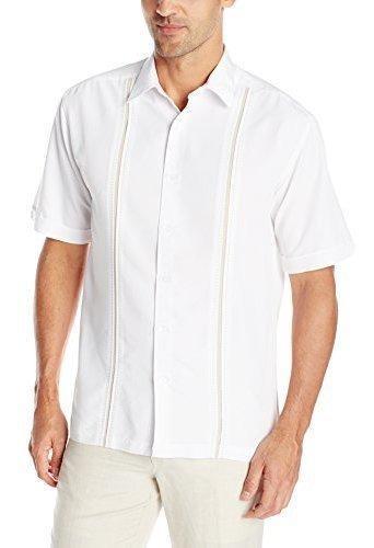 Cubavera - Camisa De Manga Corta Para Hombre Con Estampado D