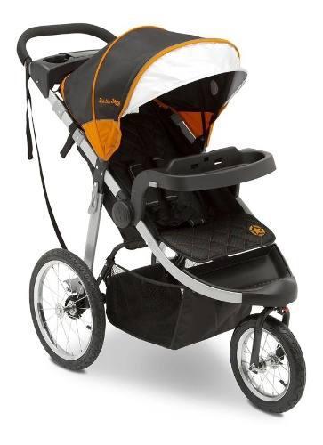 Jeep unlimited range jogger trek orange coche paseador bebe