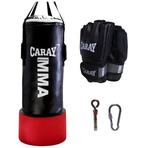 Saco De Boxeo Mma Boxeo Profesional + Guantes Mma Pro Caray