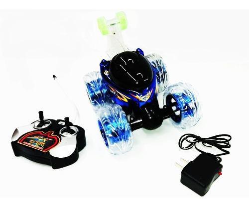 Carro loco a control remoto 3d batería recargable
