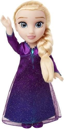 Disney frozen 2 canta con elsa muñeca luces juguete niña