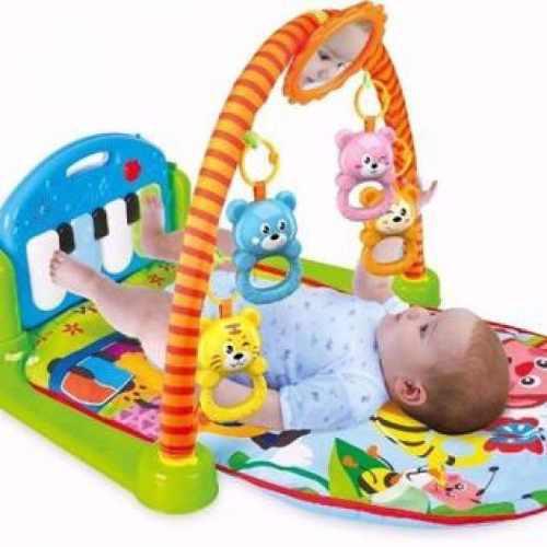 Gimnasio para bebes piano musical 0 meses niño y