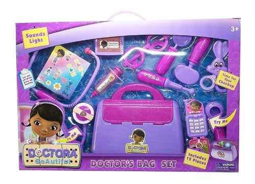Maletín doctora juguetes set niñas princesas enfermera