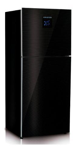 Nevera Challenger Negra No Frost 570 - Ref Cr 570 / 450l
