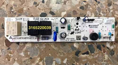 Repuesto Nevera Haceb Tarjeta N370/420 Original