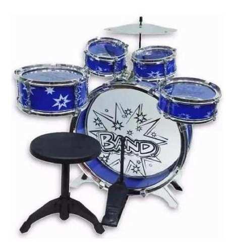 Set bateria musical niña o niño 5 tambores juguete env