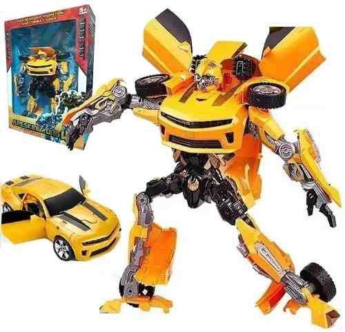 Transformers bumblebee gigante juguetería luces juguetes