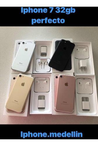 Iphone 7 32gb perfecto en caja