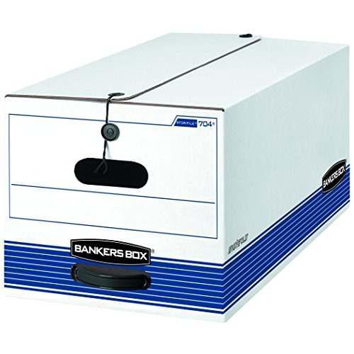 Bankers Box Stor /file Cajas De Almacenamiento De Servicio