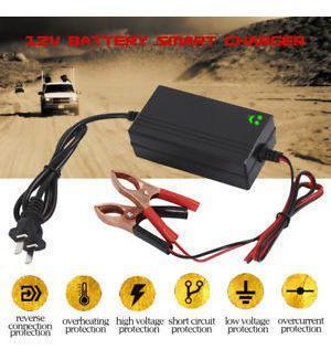 Cargador De Bateria De Coche 12v Portable Auto Goteo Mantene