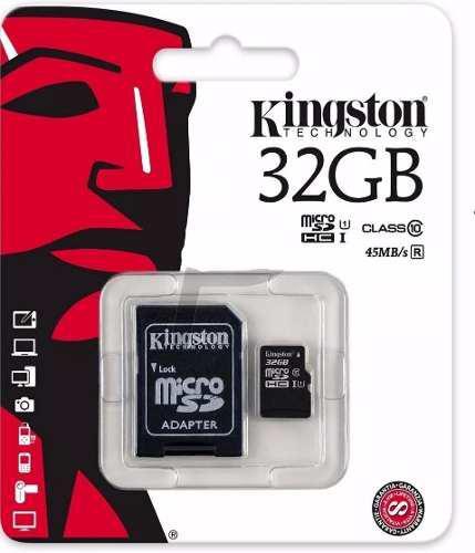 Memoria micro sd kingston 32gb clase 10 kingston