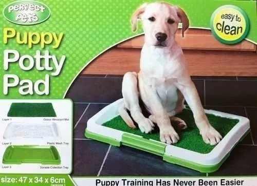 Tapete De Entrenamiento Puppy Potty Pad Baño Pasto